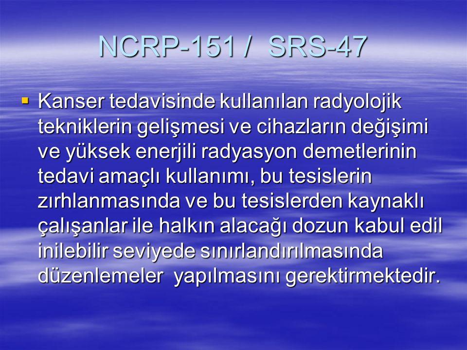 NCRP-151 / SRS-47