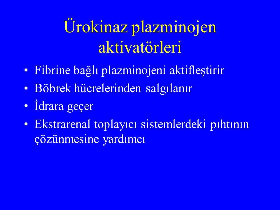 Ürokinaz plazminojen aktivatörleri