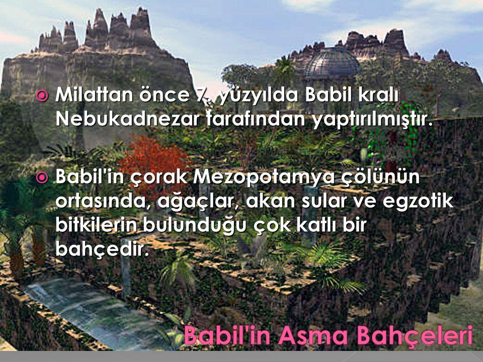 Babil in Asma Bahçeleri