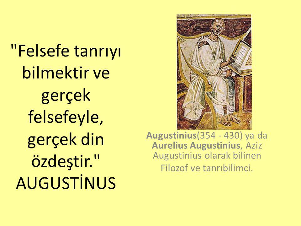 Filozof ve tanrıbilimci.