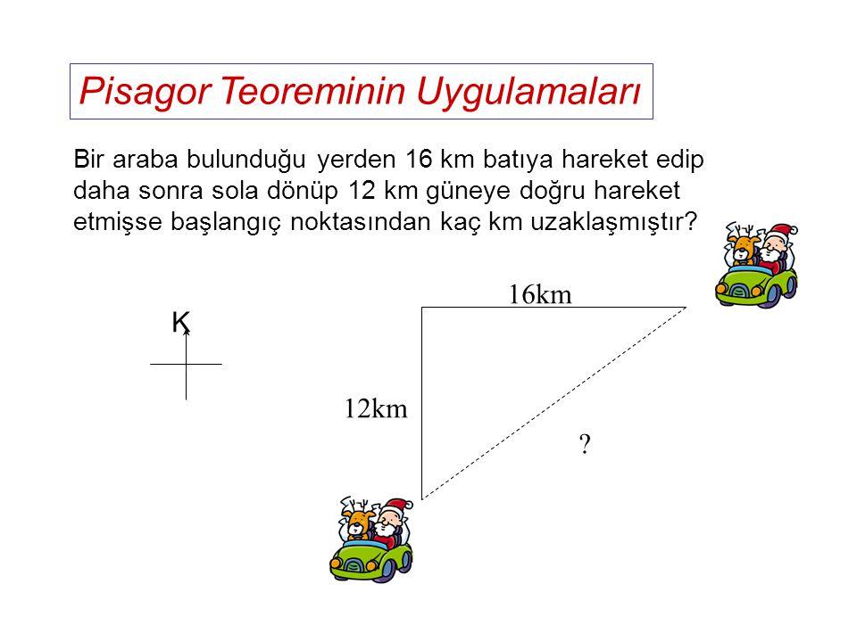 Pisagor Teoreminin Uygulamaları