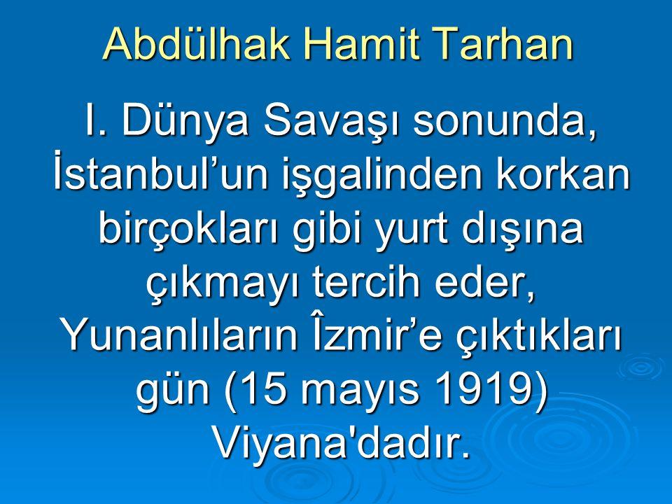 Abdülhak Hamit Tarhan