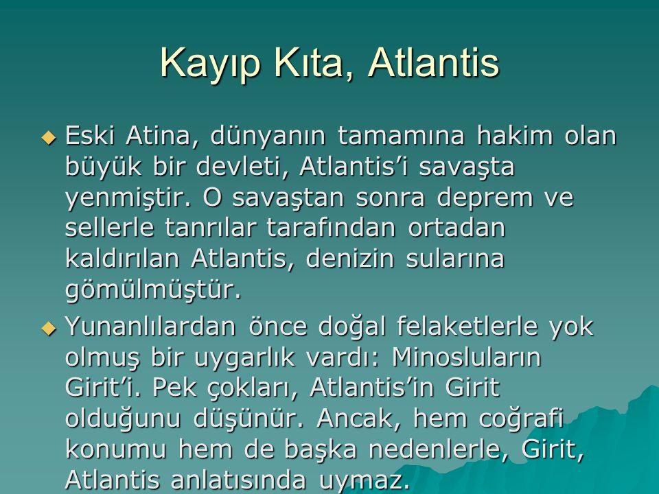 Kayıp Kıta, Atlantis