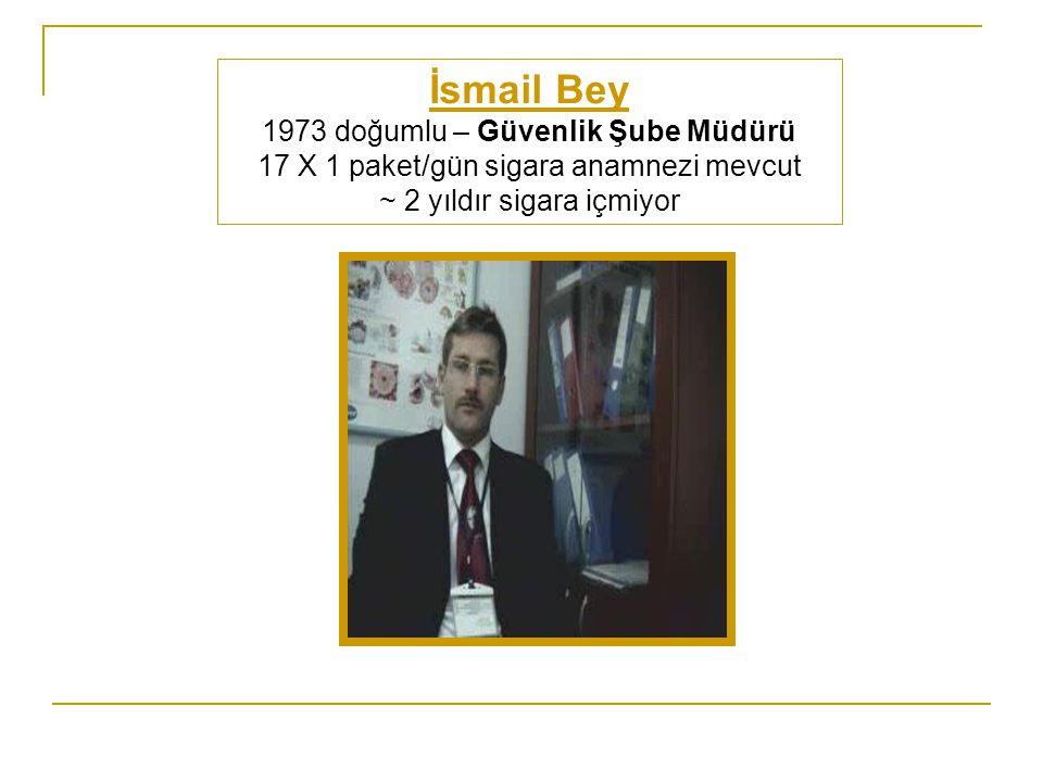 İsmail Bey 1973 doğumlu – Güvenlik Şube Müdürü