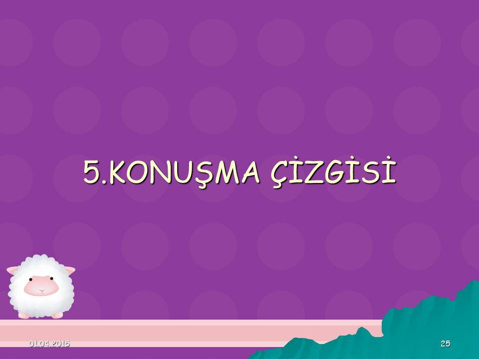 5.KONUŞMA ÇİZGİSİ 09.04.2017