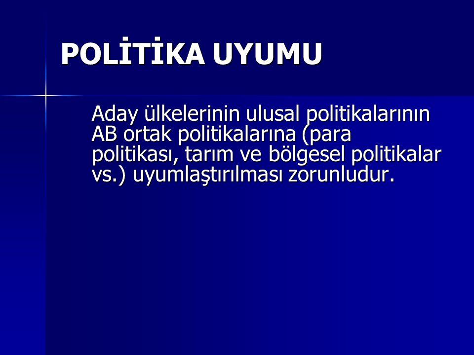 POLİTİKA UYUMU
