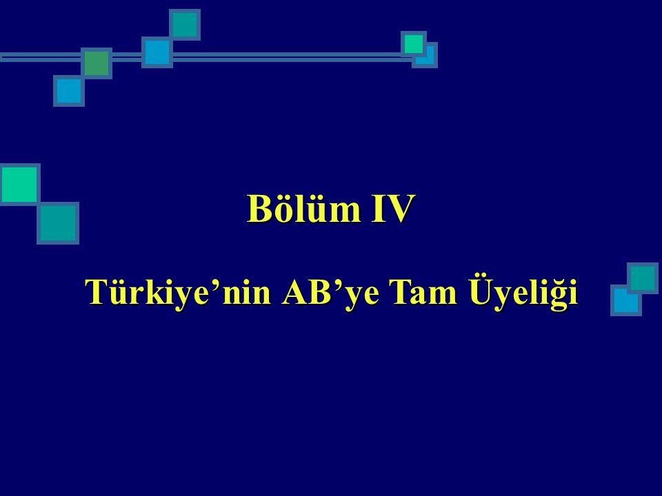 Türkiye'nin AB'ye Tam Üyeliği