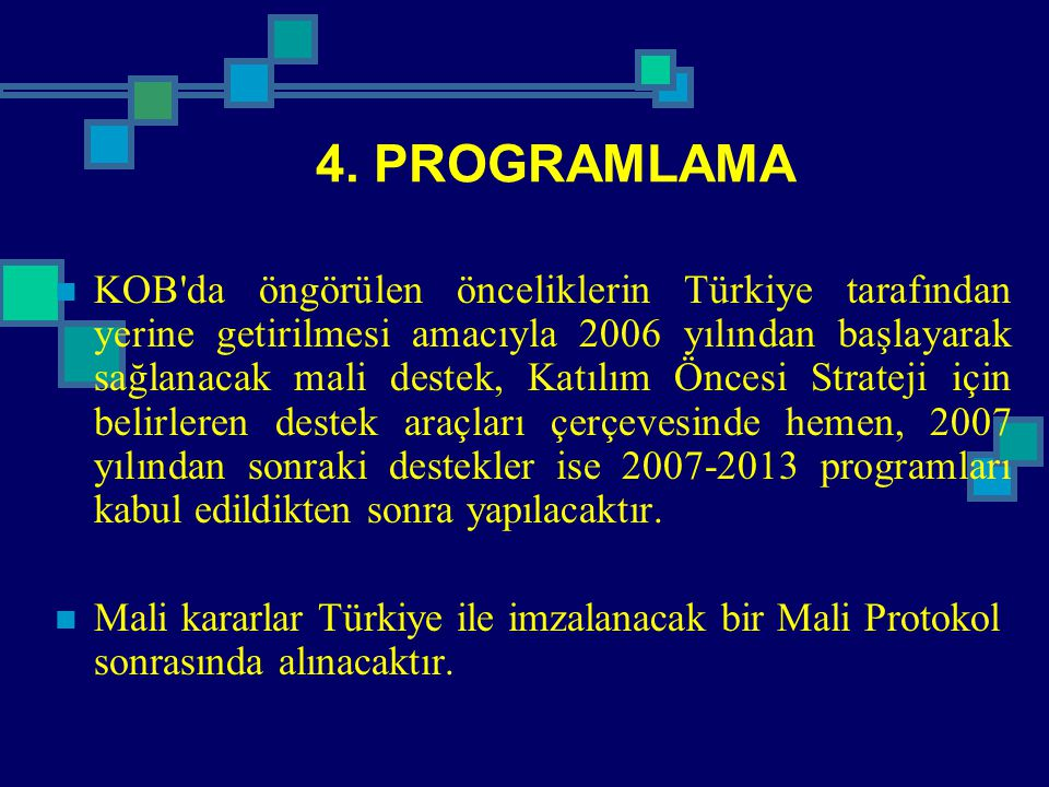 4. PROGRAMLAMA