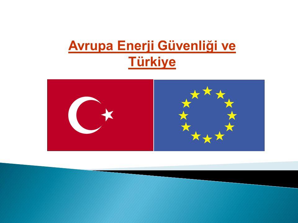 Avrupa Enerji Güvenliği ve Türkiye