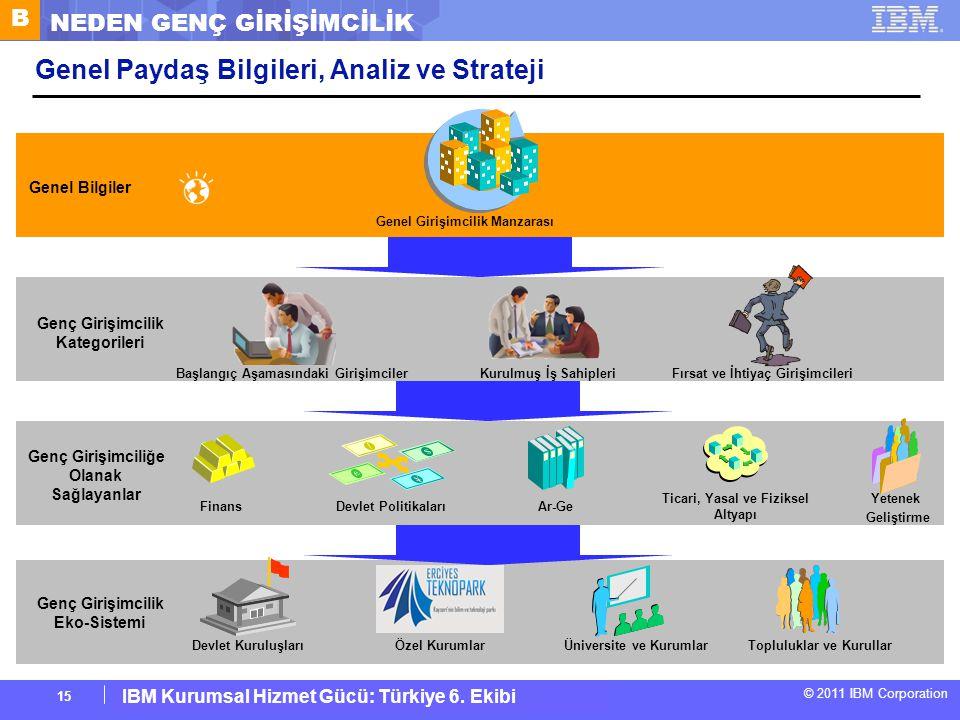 Genel Paydaş Bilgileri, Analiz ve Strateji