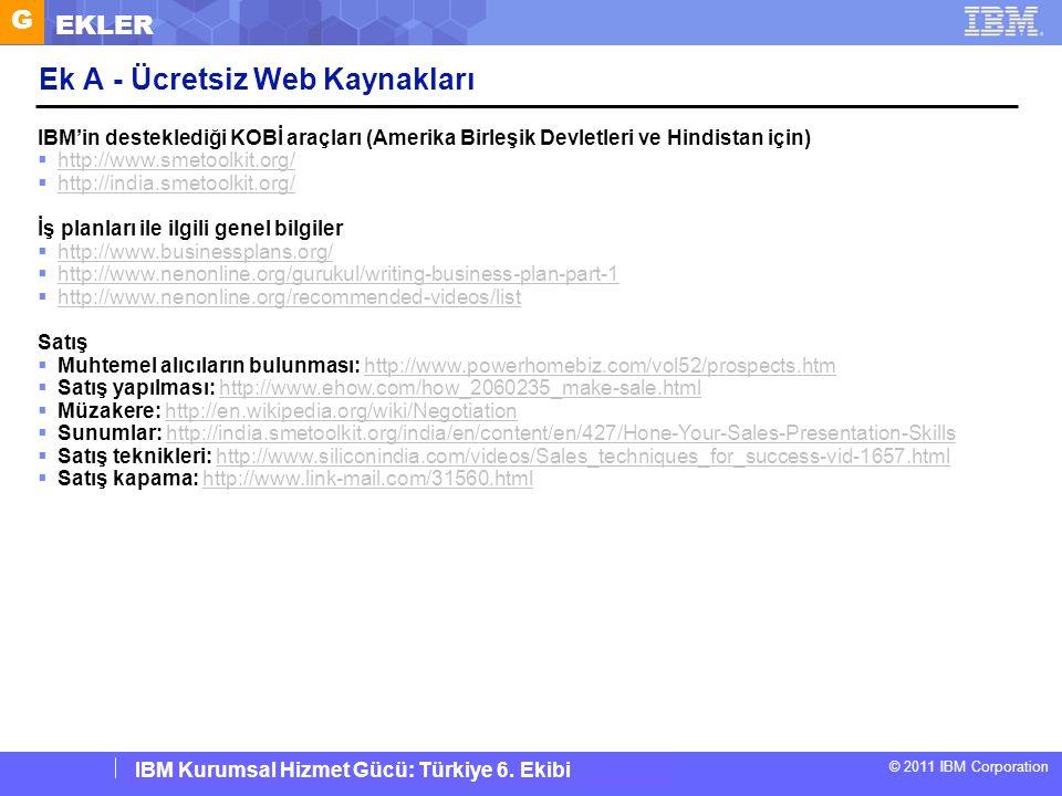 Ek A - Ücretsiz Web Kaynakları
