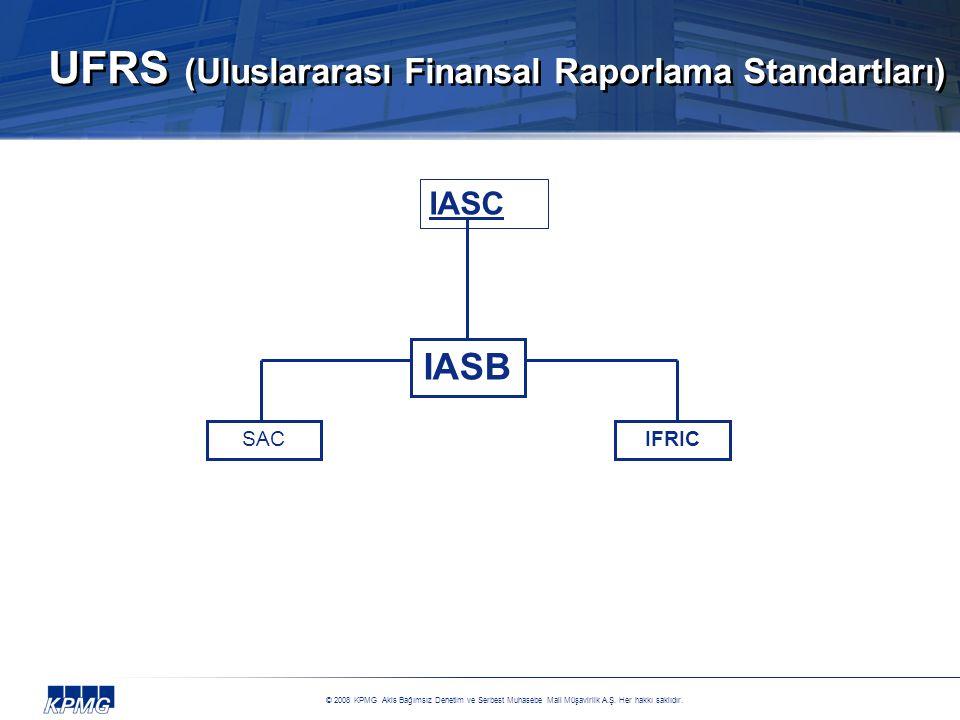 UFRS (Uluslararası Finansal Raporlama Standartları)