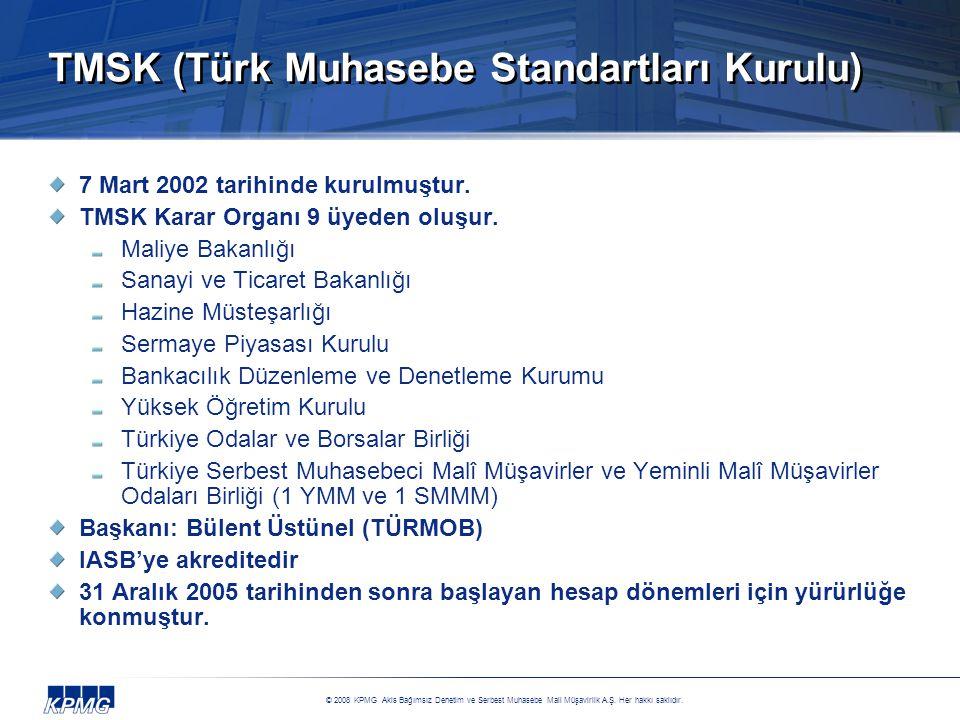TMSK (Türk Muhasebe Standartları Kurulu)