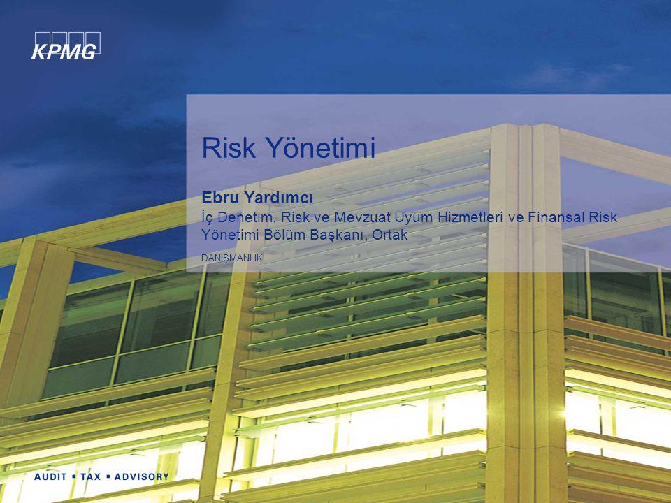 Risk Yönetimi Ebru Yardımcı