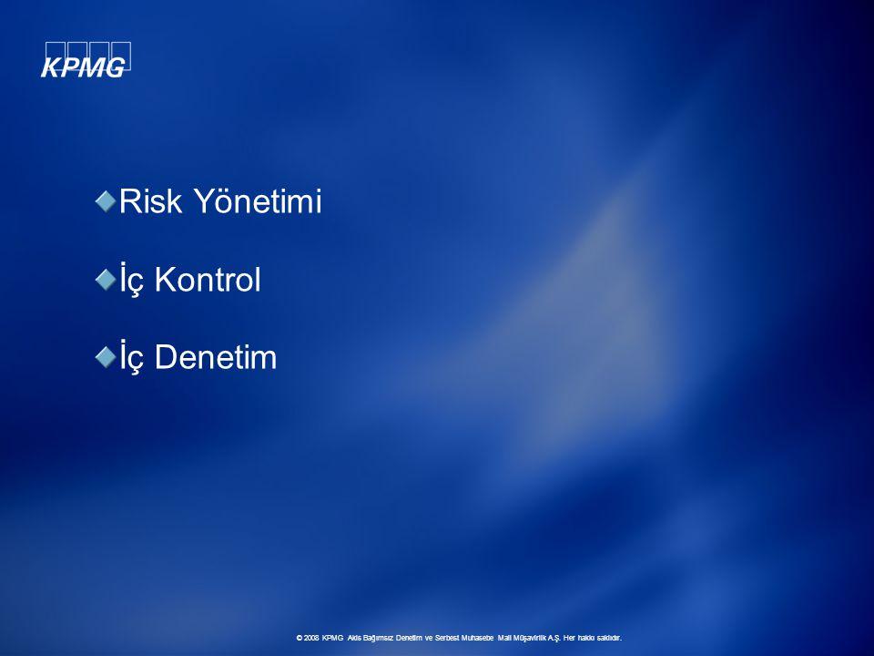 Risk Yönetimi İç Kontrol İç Denetim
