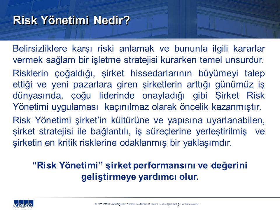 Risk Yönetimi Nedir Belirsizliklere karşı riski anlamak ve bununla ilgili kararlar vermek sağlam bir işletme stratejisi kurarken temel unsurdur.