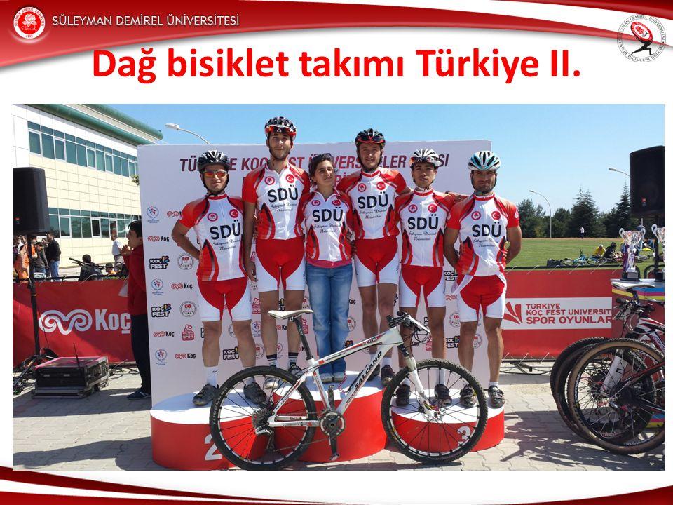Dağ bisiklet takımı Türkiye II.