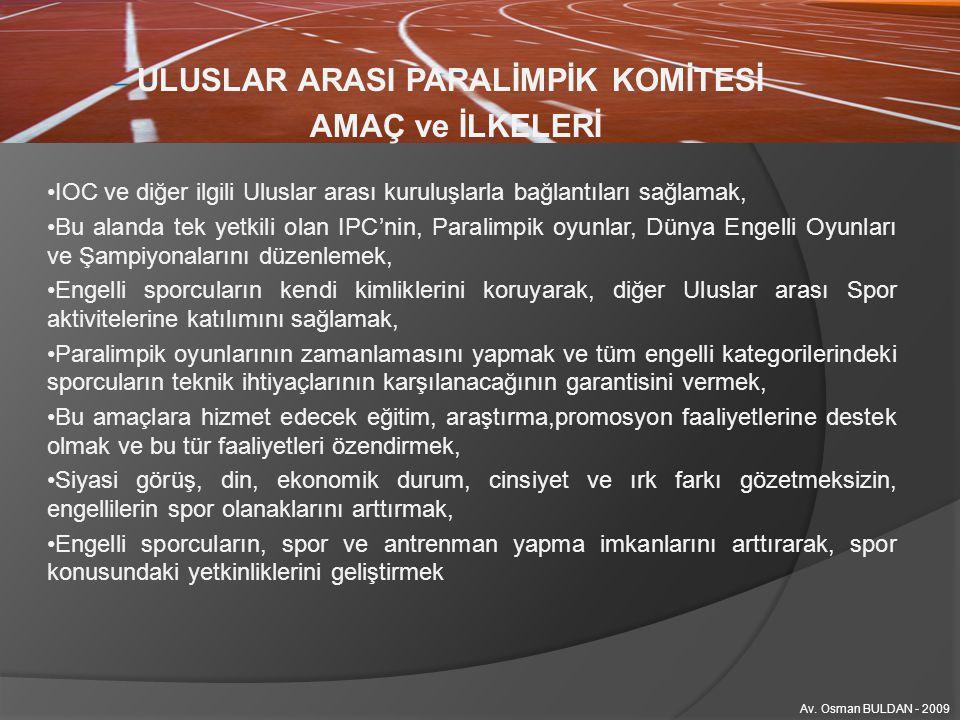 ULUSLAR ARASI PARALİMPİK KOMİTESİ