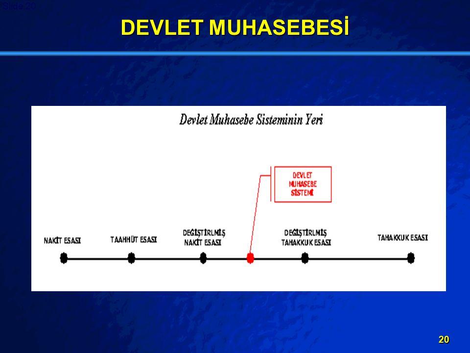DEVLET MUHASEBESİ