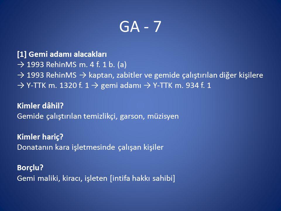 GA - 7