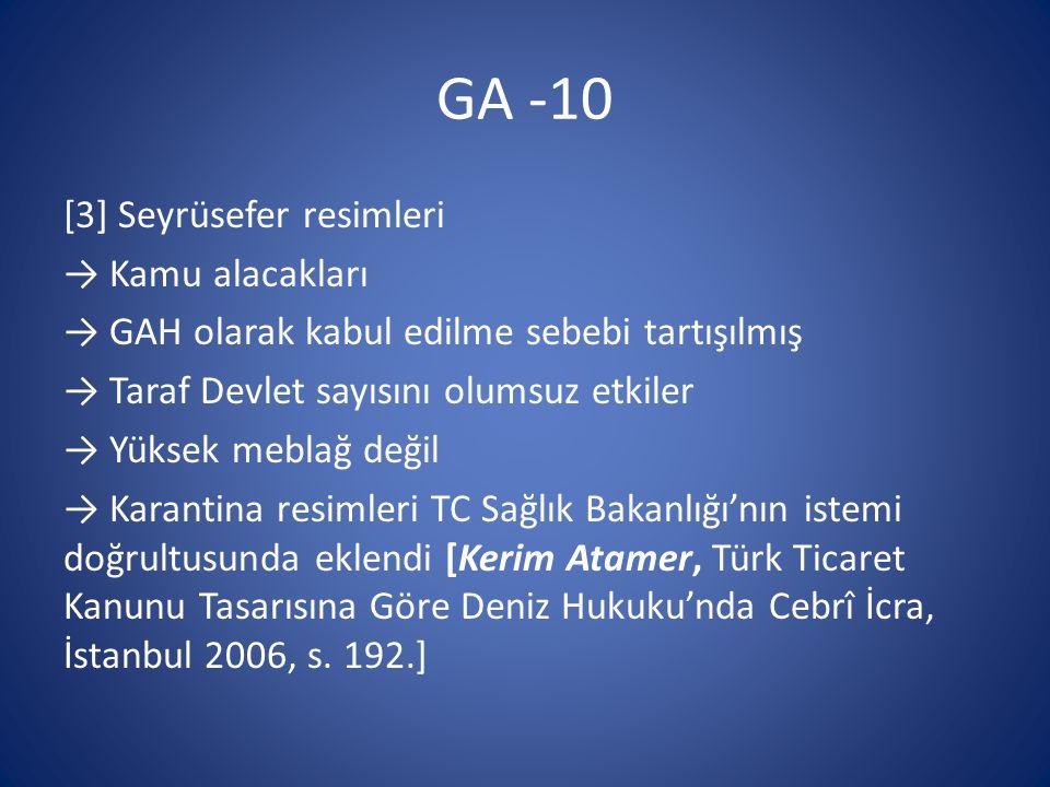 GA -10