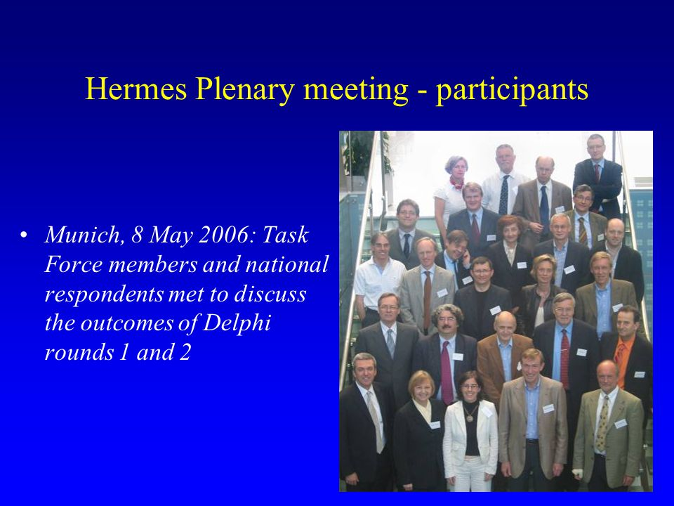 Hermes Plenary meeting - participants