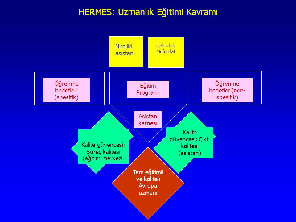 HERMES: Uzmanlık Eğitimi Kavramı