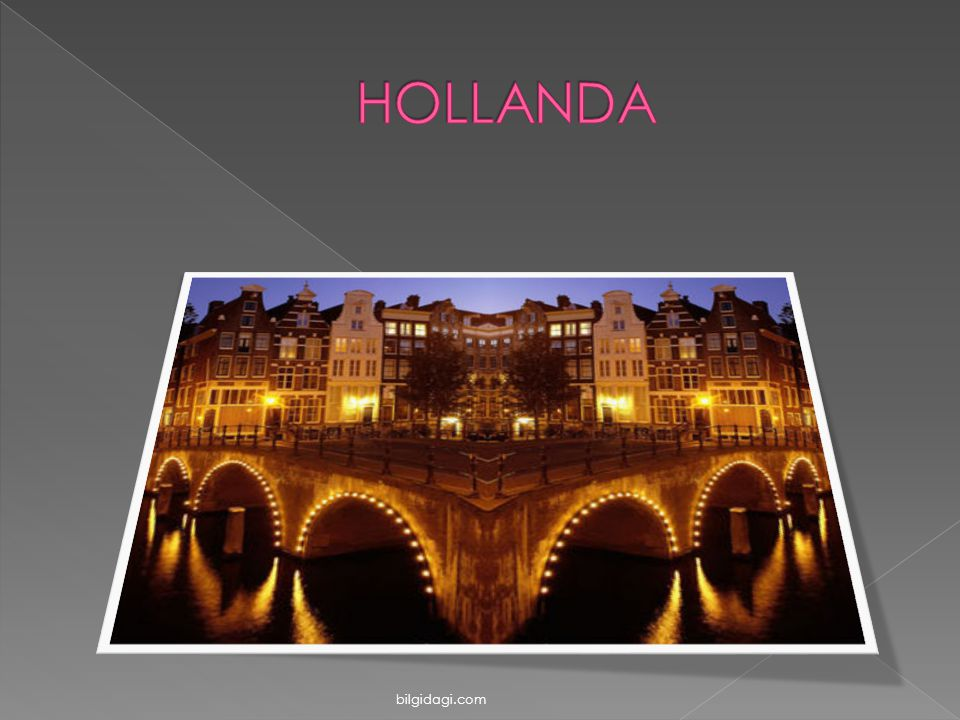 HOLLANDA bilgidagi.com
