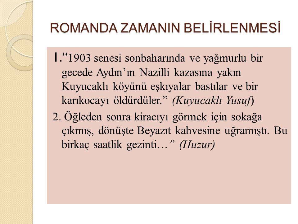 ROMANDA ZAMANIN BELİRLENMESİ