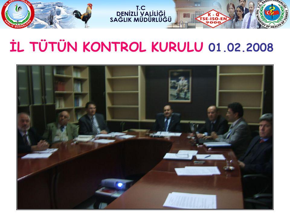 İL TÜTÜN KONTROL KURULU 01.02.2008