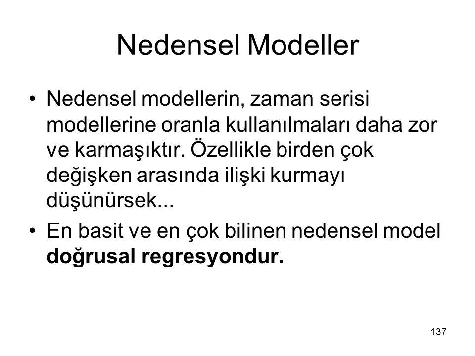 Nedensel Modeller