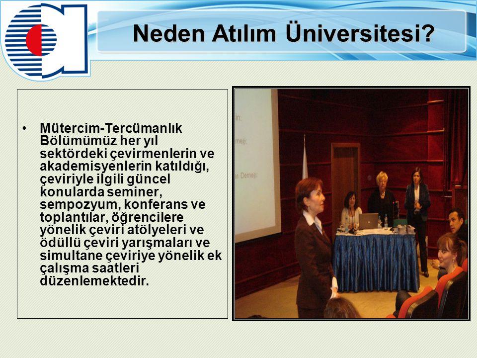 Neden Atılım Üniversitesi