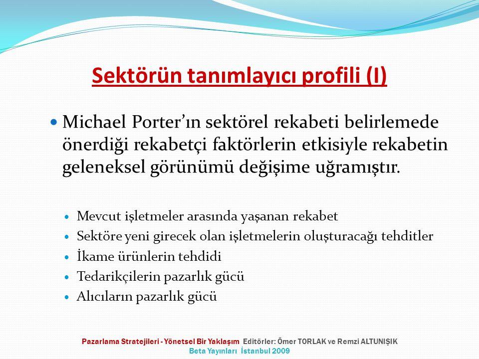 Sektörün tanımlayıcı profili (I)