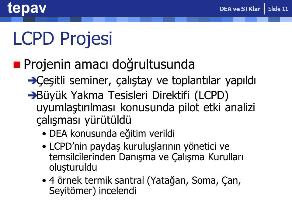 LCPD Projesi Projenin amacı doğrultusunda