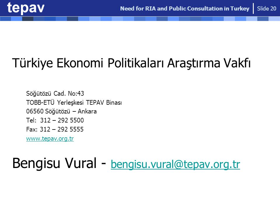 Bengisu Vural - bengisu.vural@tepav.org.tr