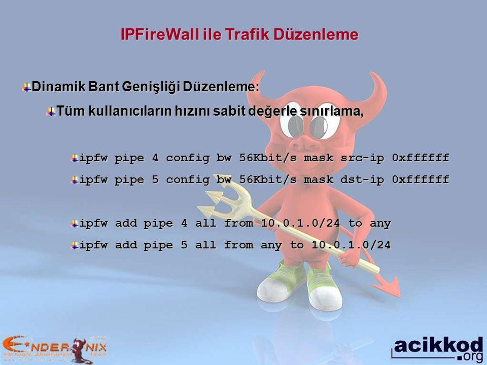 IPFireWall ile Trafik Düzenleme