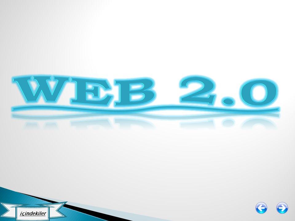 Web 2.0 içindekiler