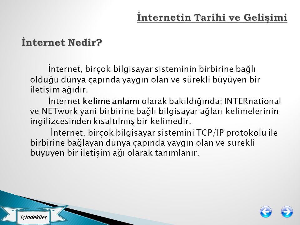 İnternetin Tarihi ve Gelişimi