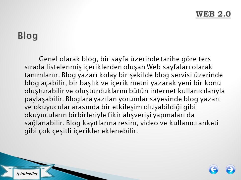 WEB 2.0 Blog.