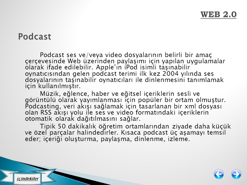 WEB 2.0 Podcast.