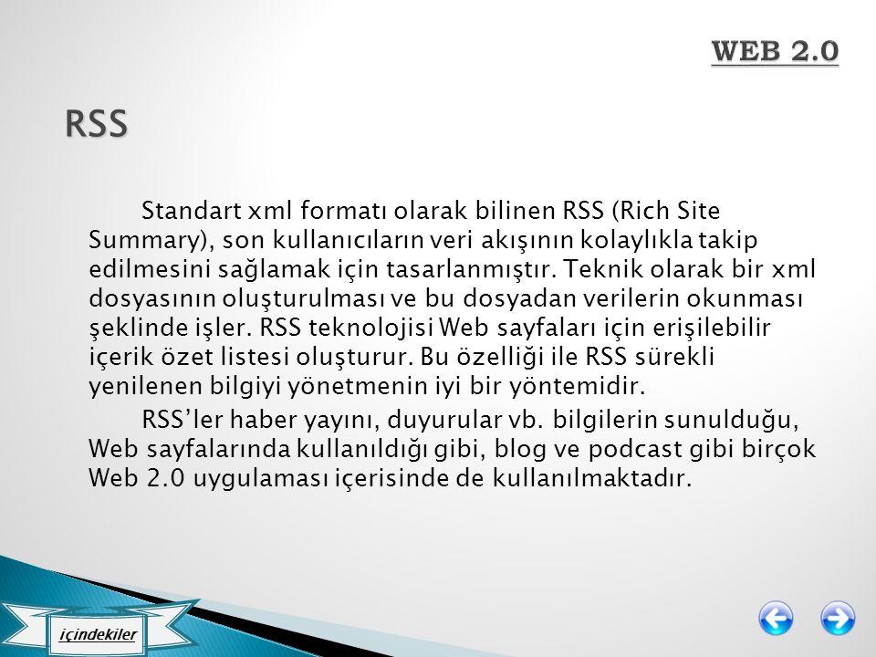 WEB 2.0 RSS.