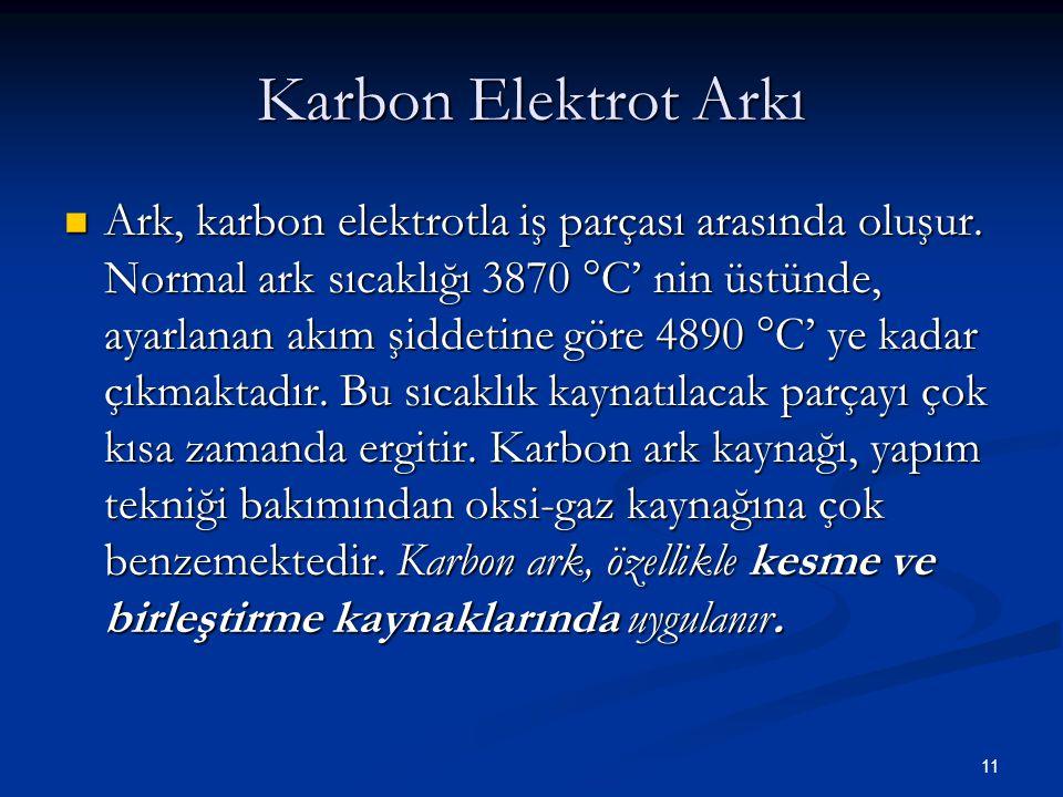Karbon Elektrot Arkı