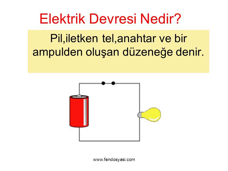 Elektrik Devresi Nedir