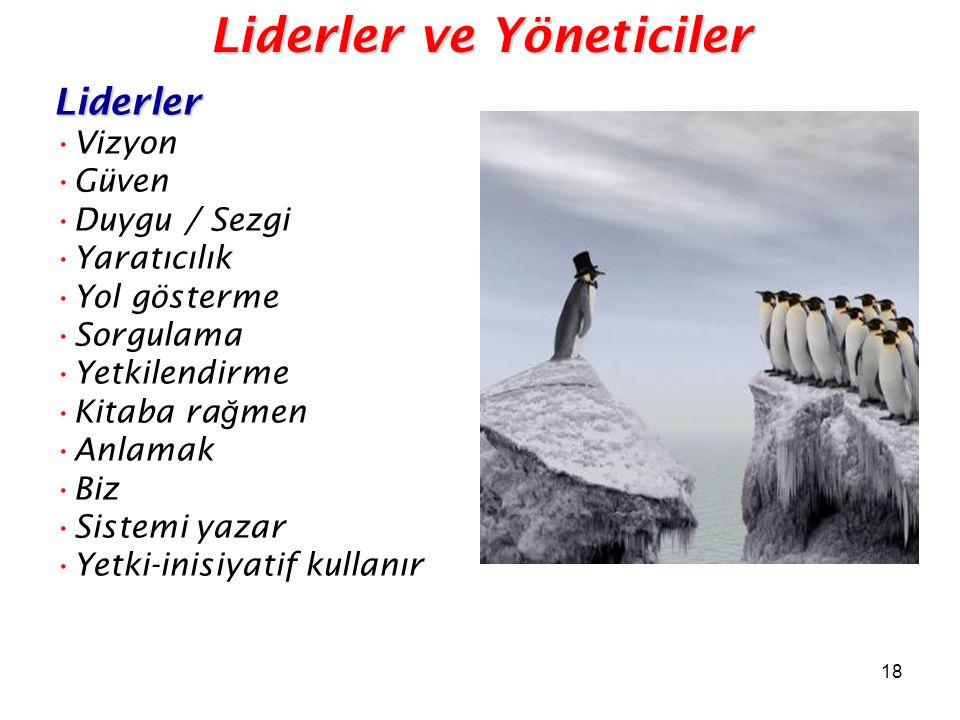 Liderler ve Yöneticiler