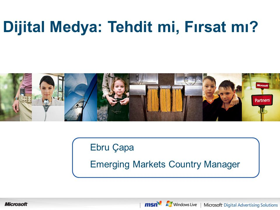 Ebru Çapa Emerging Markets Country Manager