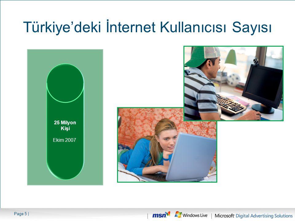 Türkiye'deki İnternet Kullanıcısı Sayısı