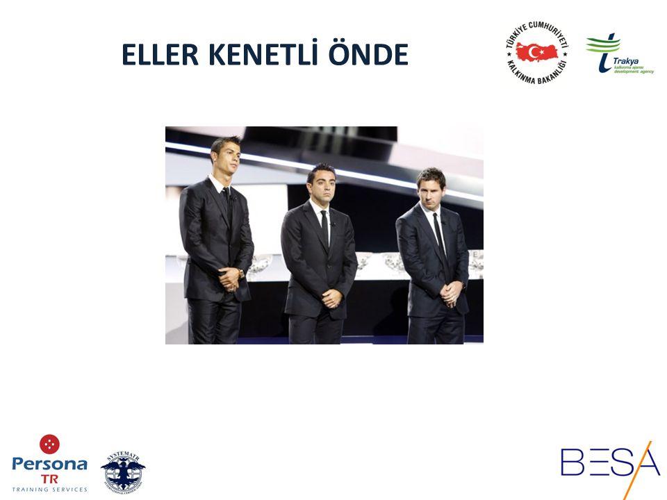 ELLER KENETLİ ÖNDE