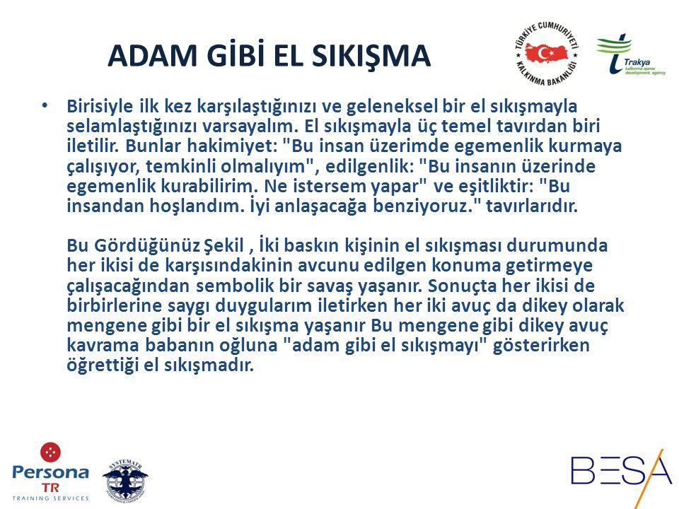 ADAM GİBİ EL SIKIŞMA