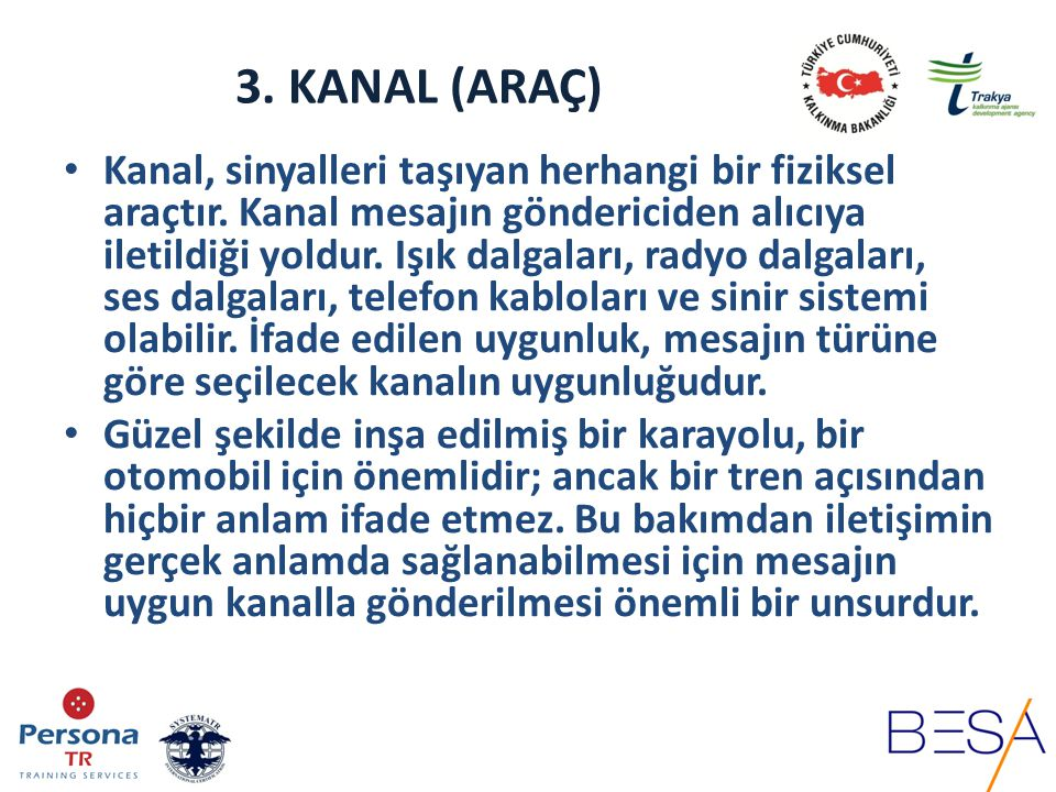 3. KANAL (ARAÇ)