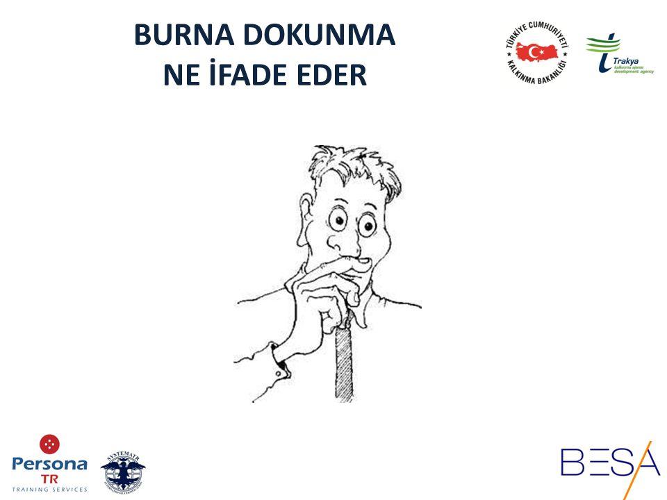 BURNA DOKUNMA NE İFADE EDER